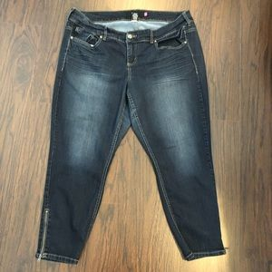 Torrid Premium denim jeans Sz 20 Skinny Ankle Zip